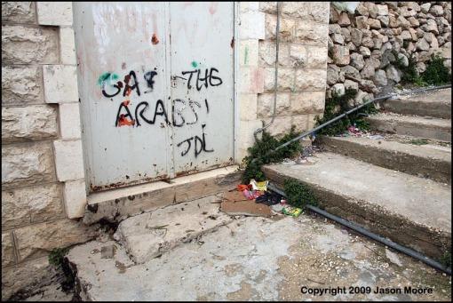 Racist Graffiti Hebron