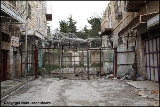 Old City Hebron West Bank
