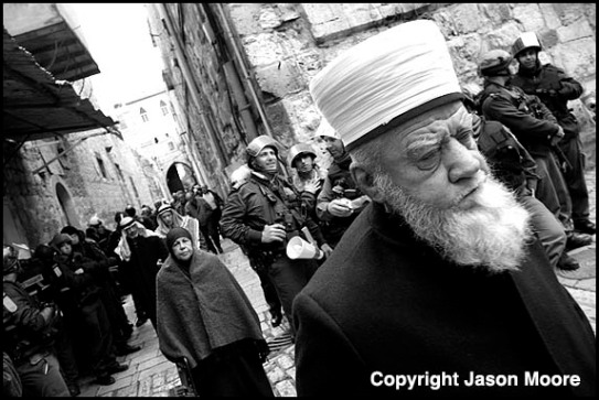 Palestinian Muslims in the Old City of Jerusalem